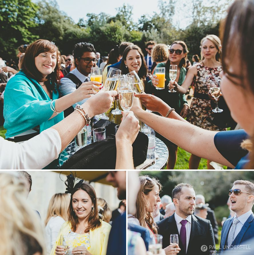 Drinks reception Highcliffe Castle