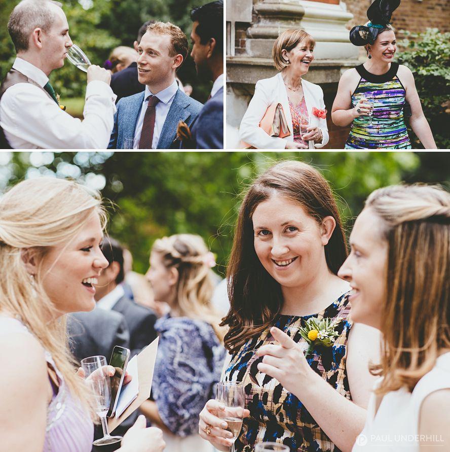 Fun moments at London wedding
