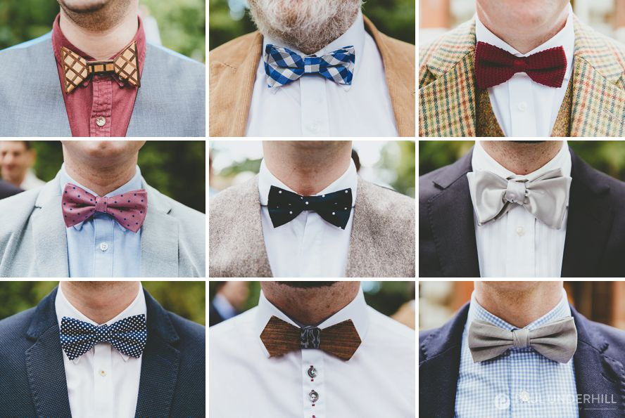 Gay wedding outfits bowties