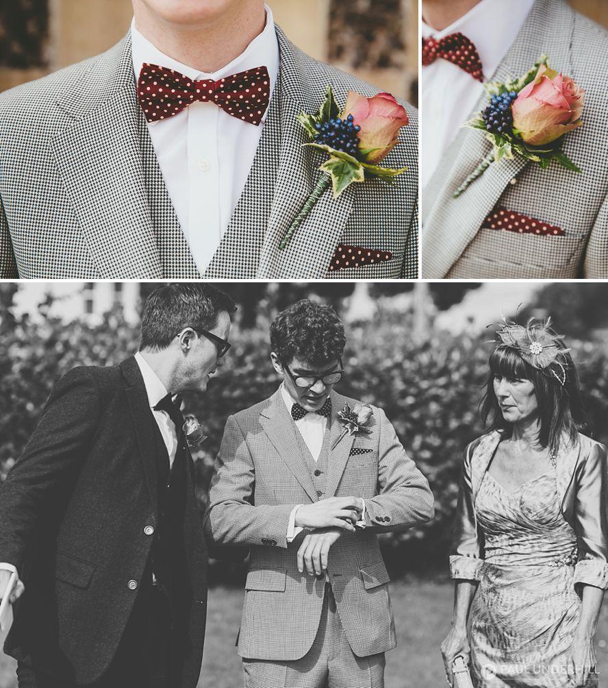 Grooms wedding fashion