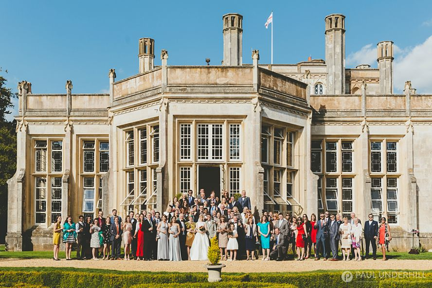 Group photo Highcliffe Castle
