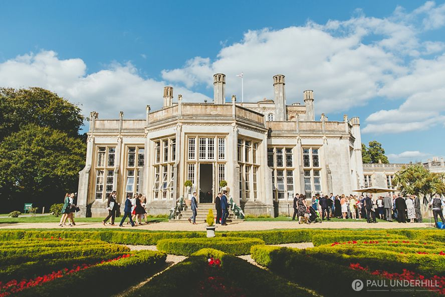 Highcliffe Castle wedding celebration