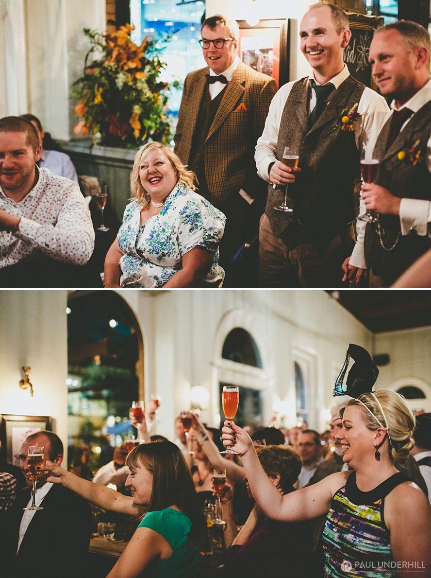 London documentary wedding photographers