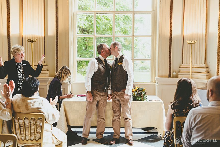 London gay wedding
