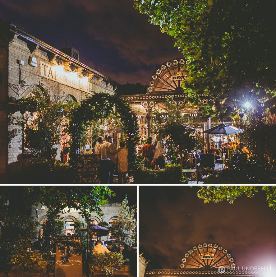 Nighttime photography in London