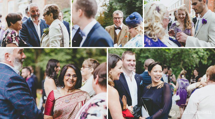 Reportage photography London weddings