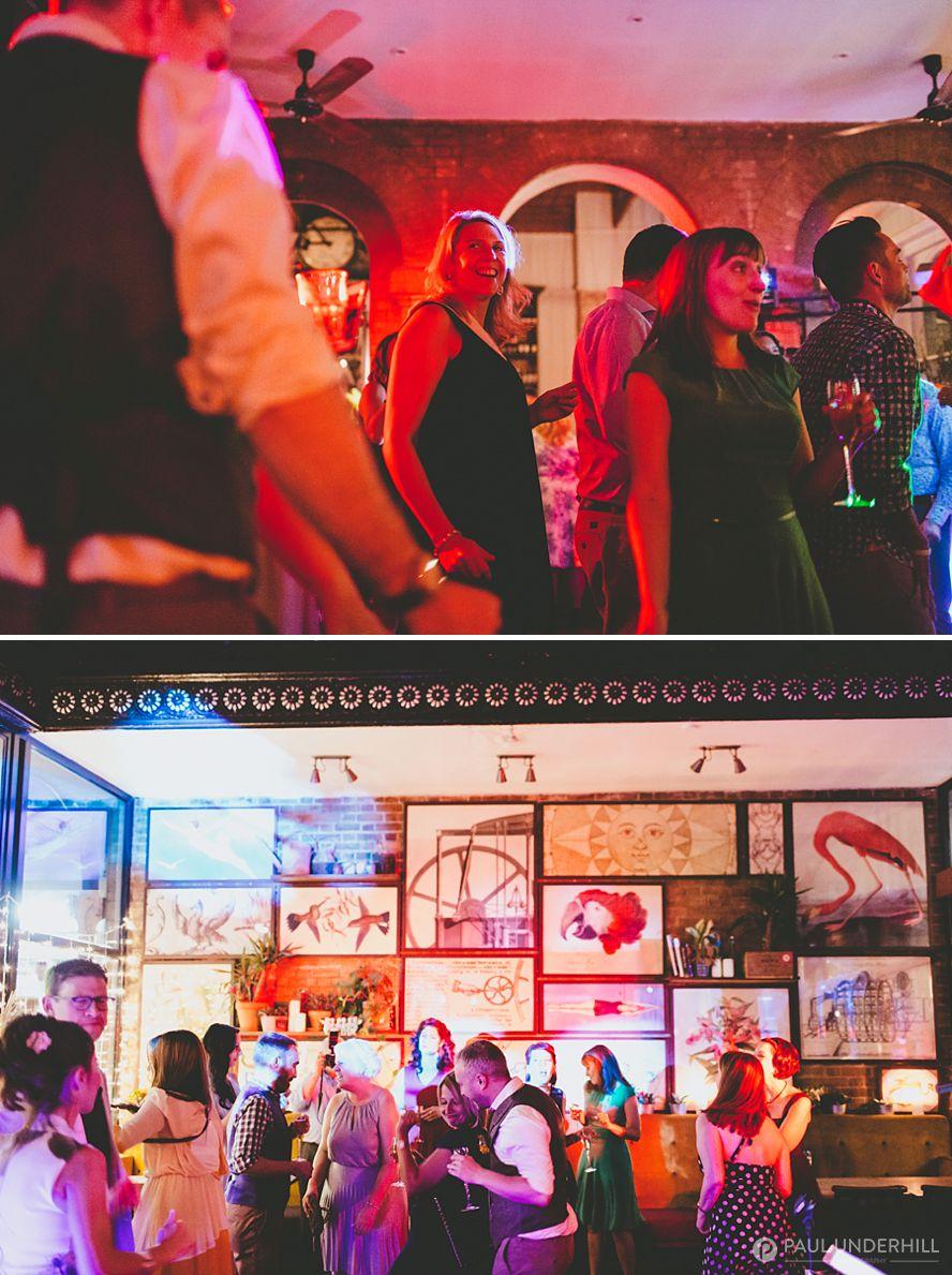 Tap on the Line London wedding venue