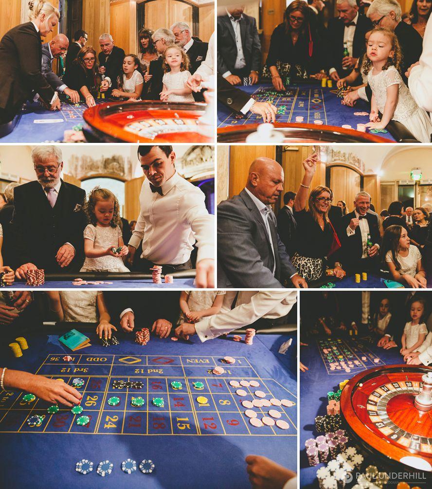 Wedding casino at Highcliffe Castle