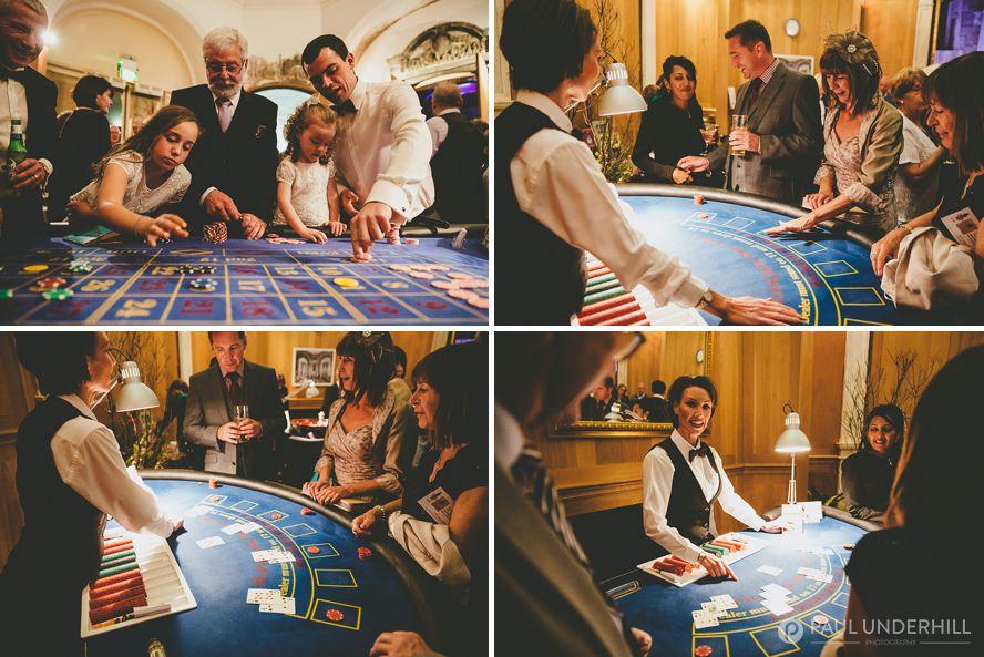 Wedding entertainment ideas casino