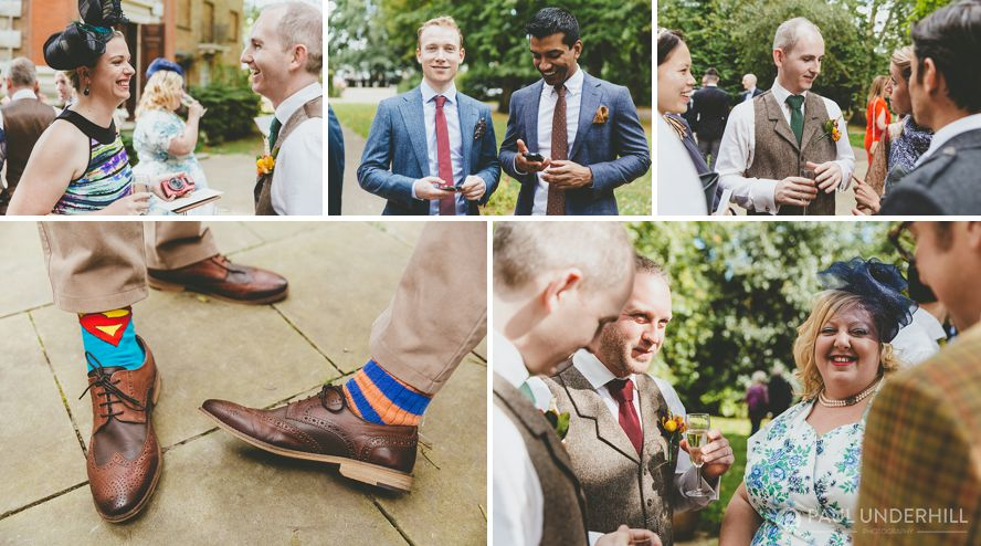 Wedding photography at Orleans House Gallery