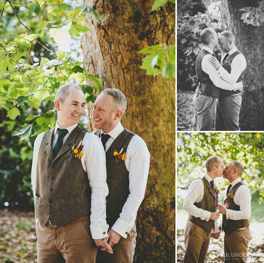 Wedding portratis gay couple
