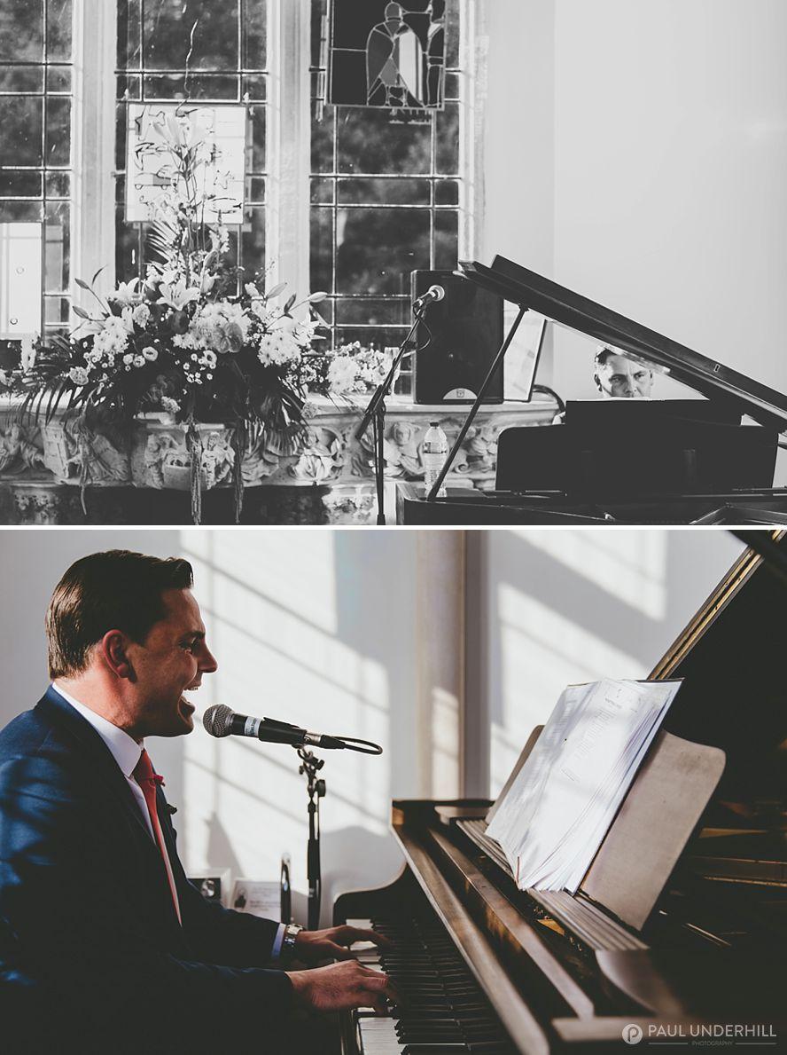 Wedding singer Highcliffe Castle