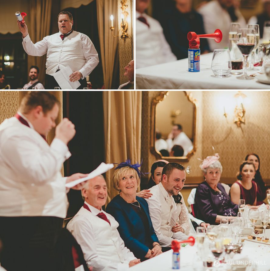 Bestman speech at Careys Manor Hotel