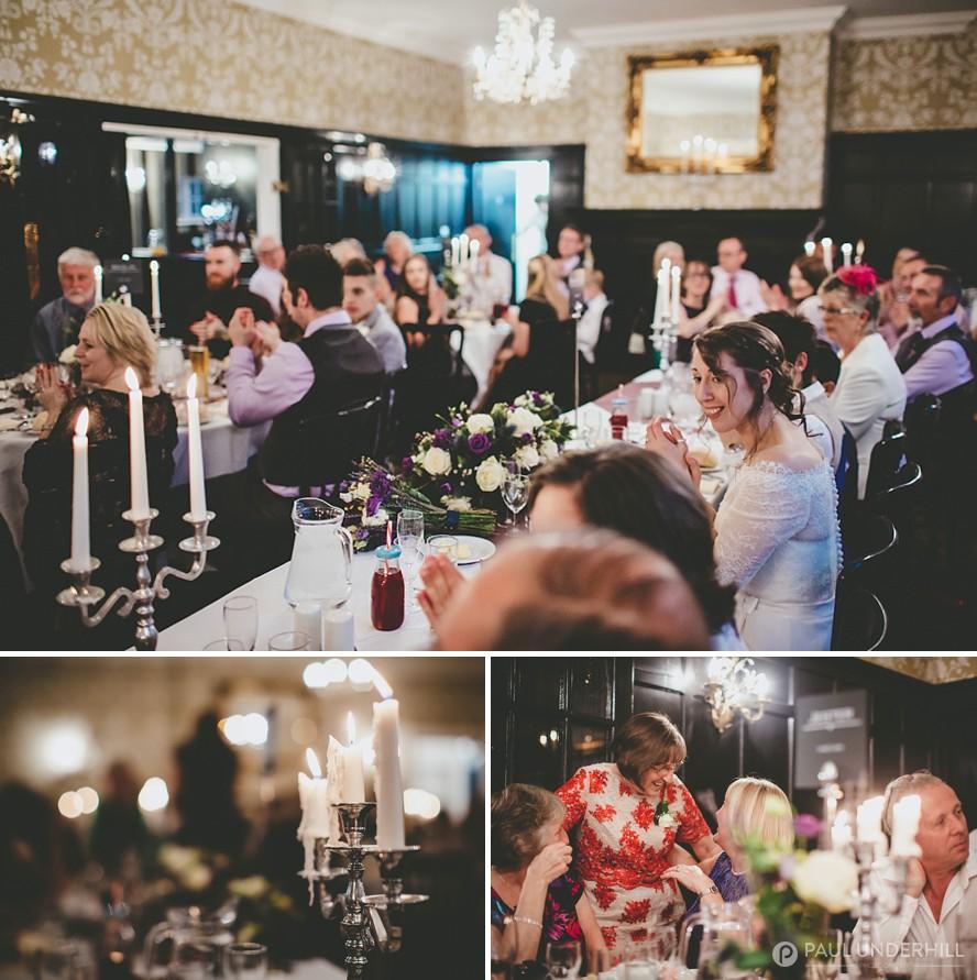 Candlelit wedding Eastlcose Hotel