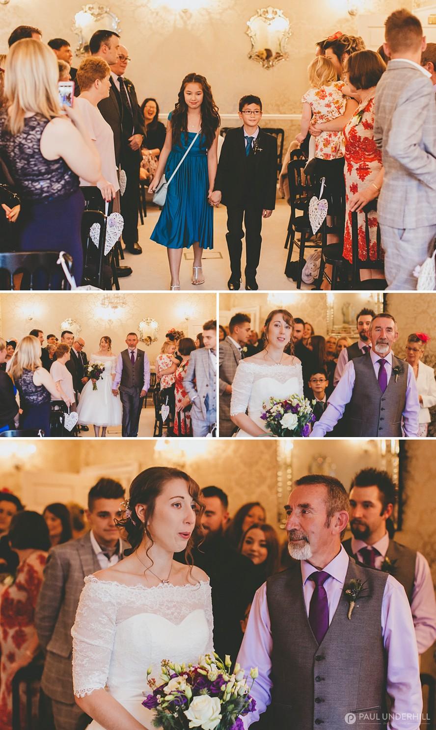 Eastclose hotel wedding ceremony
