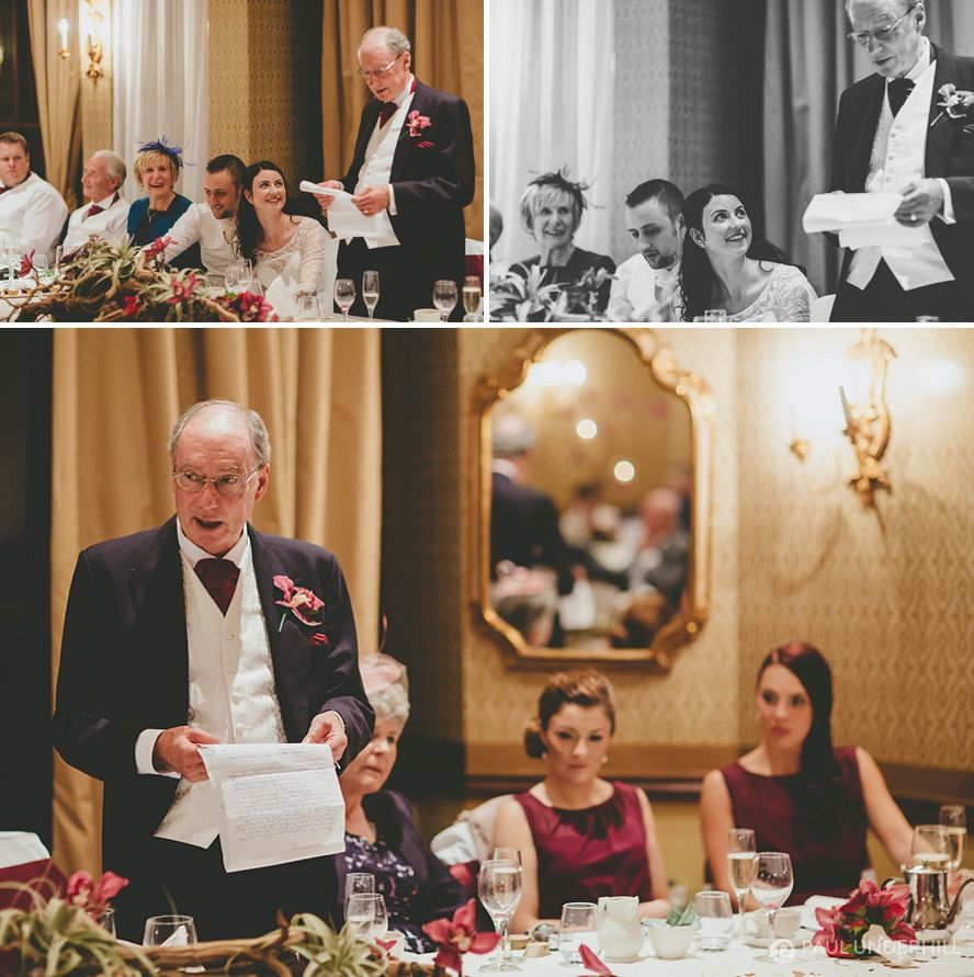 Father of the bride speech Careys Manor