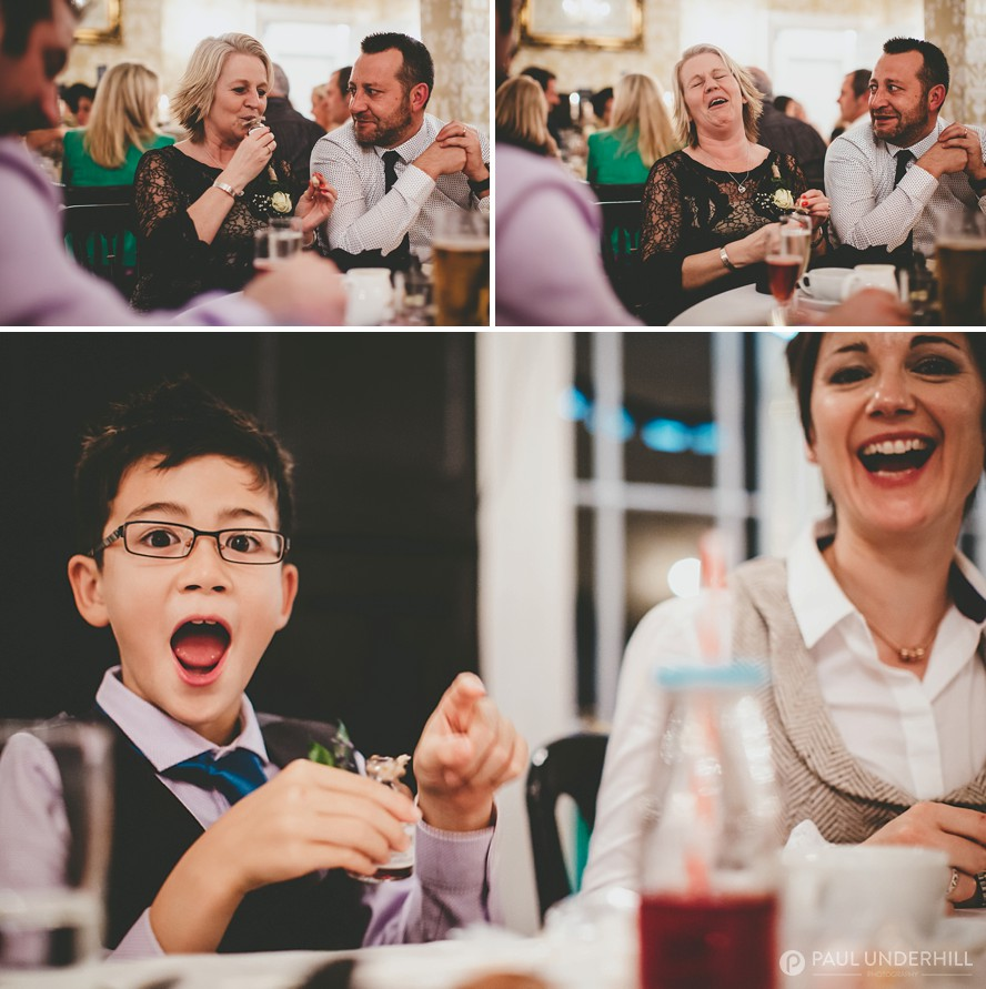 Fun moments captured wedding photography