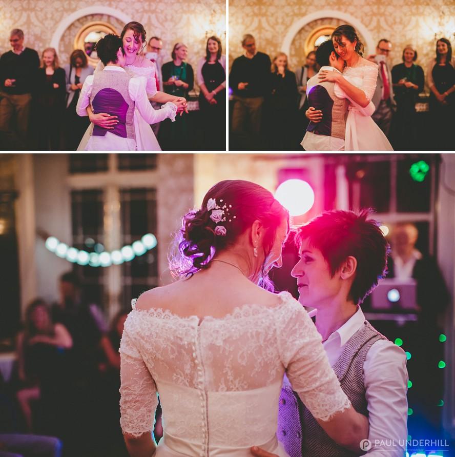 Gay wedding photography Dorset