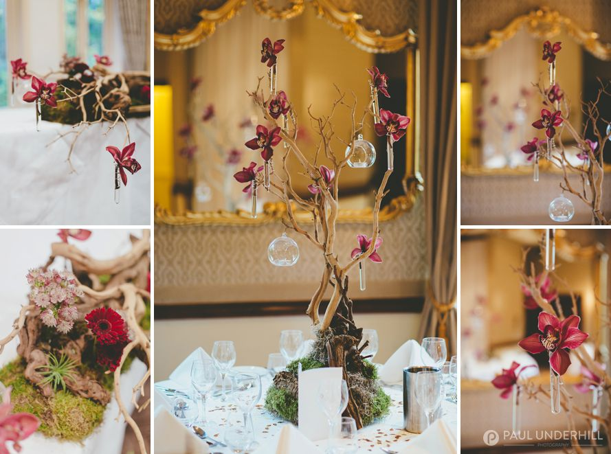 New Forest wedding decorations