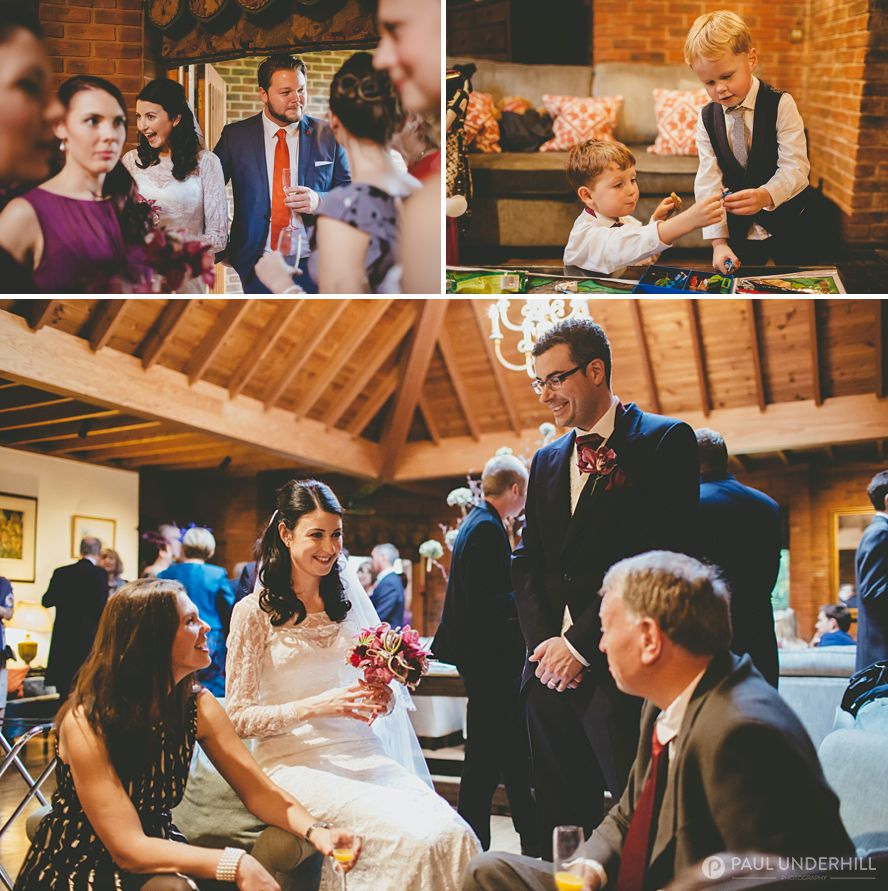 New Forest winter wedding