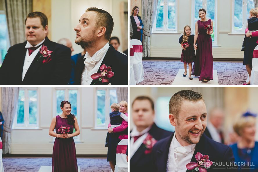 Reportage photography wedding ceremony