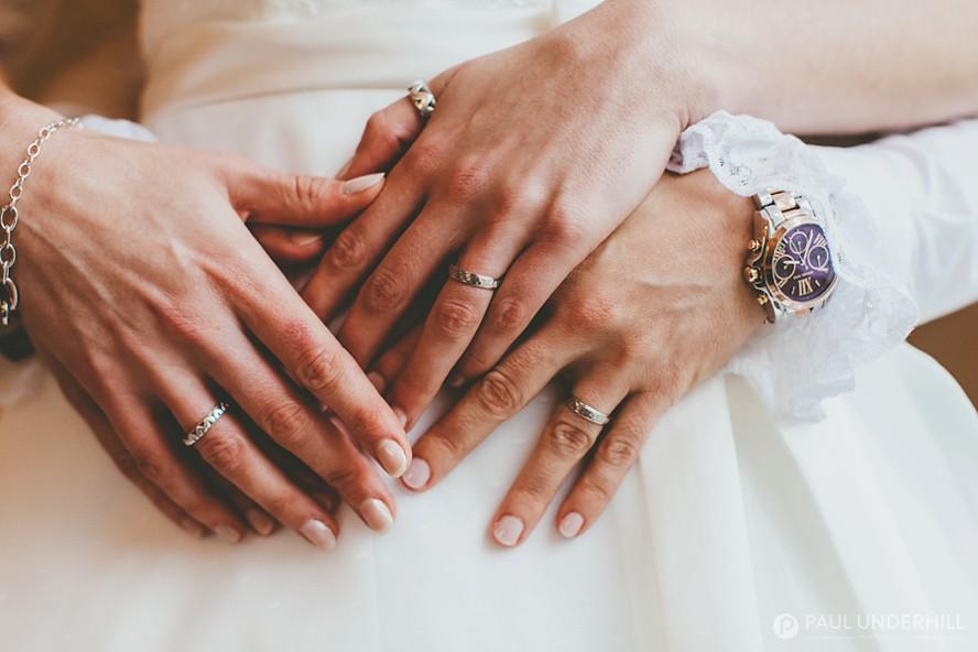 Same-sex couple wedding photography