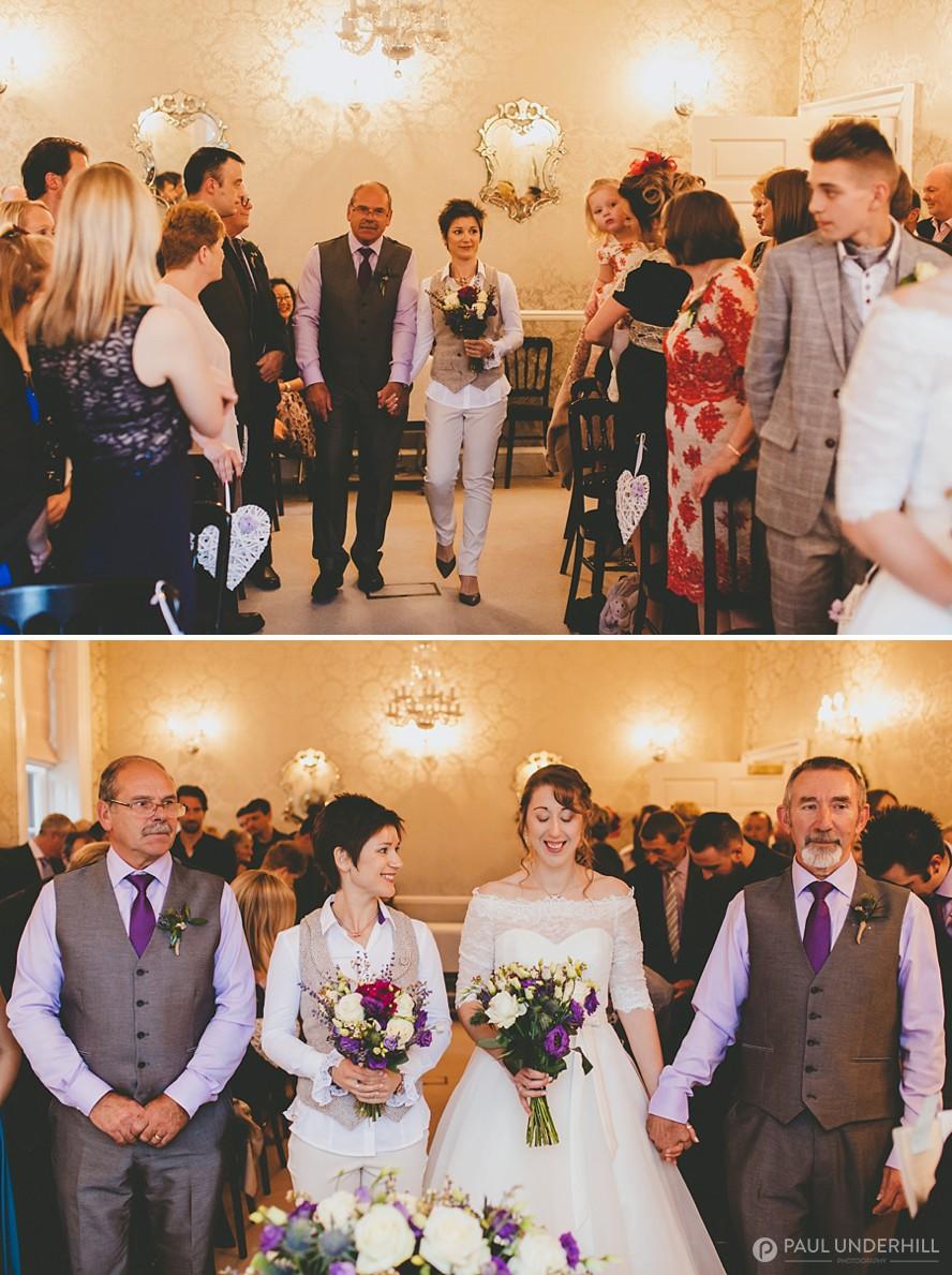 Same sex wedding New Forest