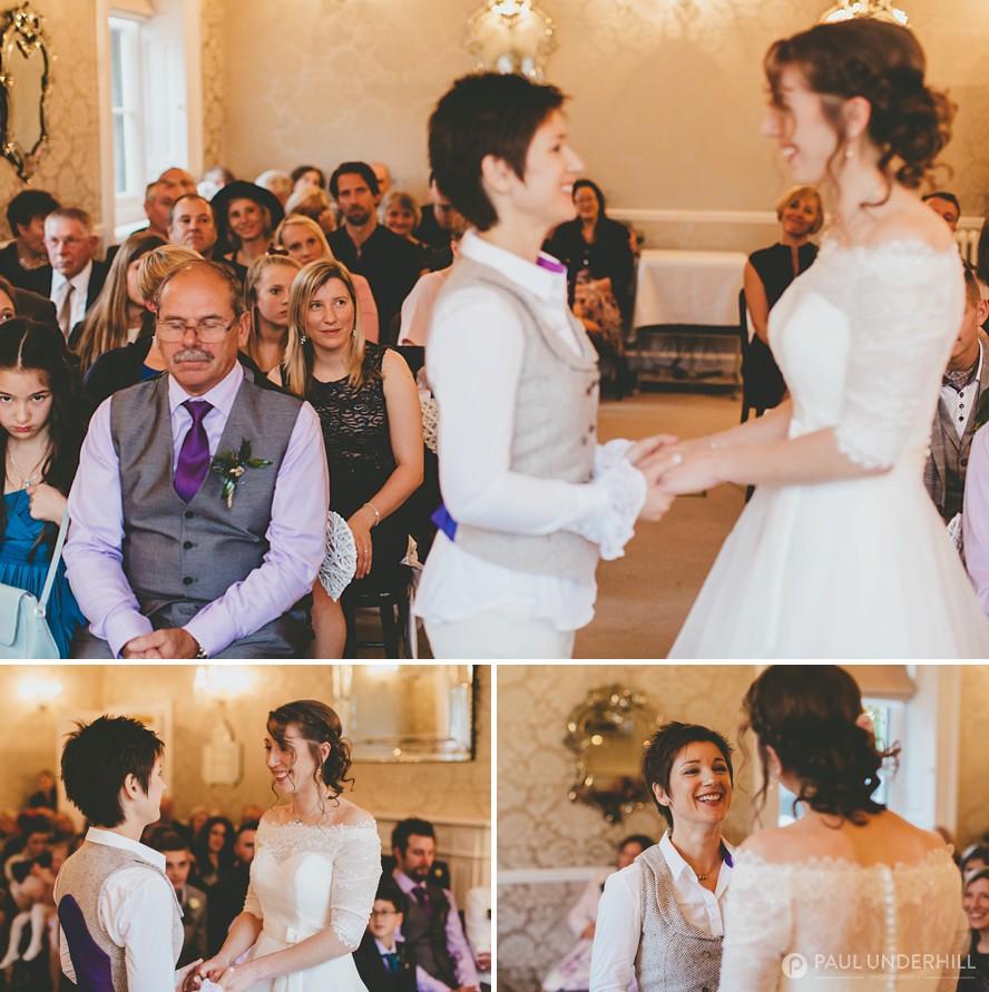 Same-sex wedding photography