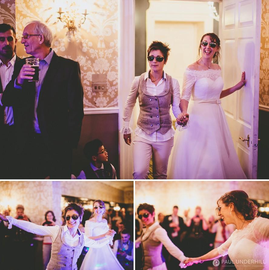 Top gun themed wedding dance