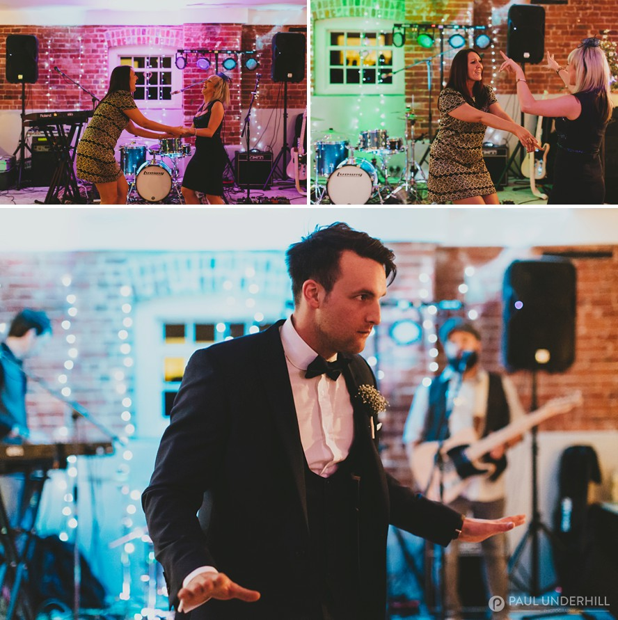 Fun wedding moments captured at Sopley Mill