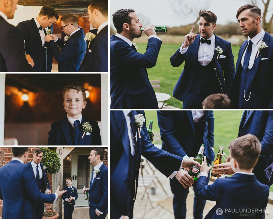 Groom and Groomsens at Sopley Mill