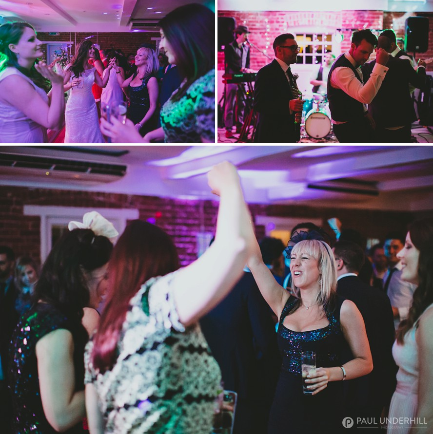 Sopley Mill wedding celebration
