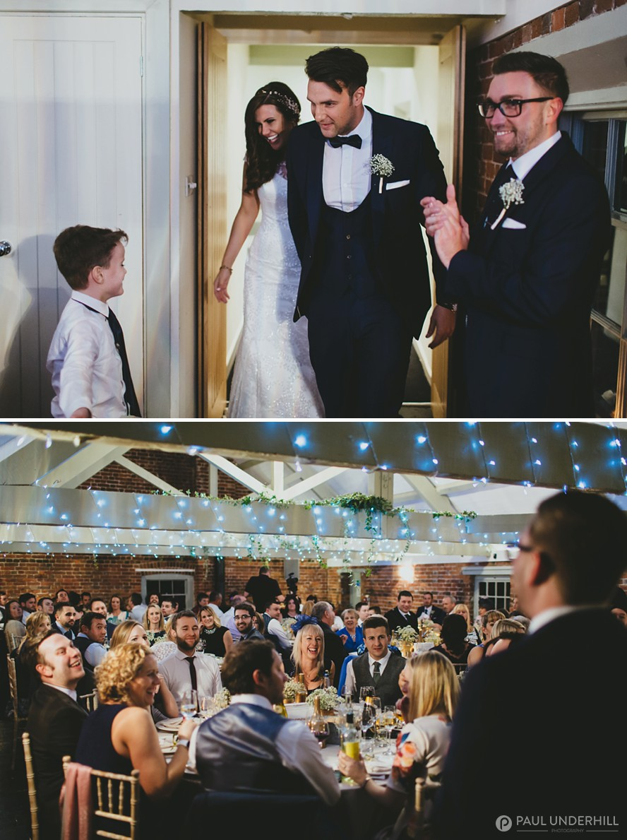 Sopley Mill wedding reception
