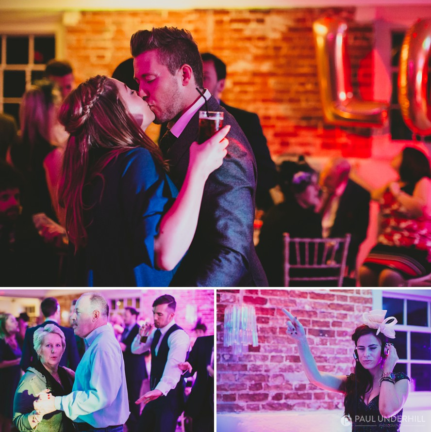 Wedding celebrations at Sopley Mill in Dorset