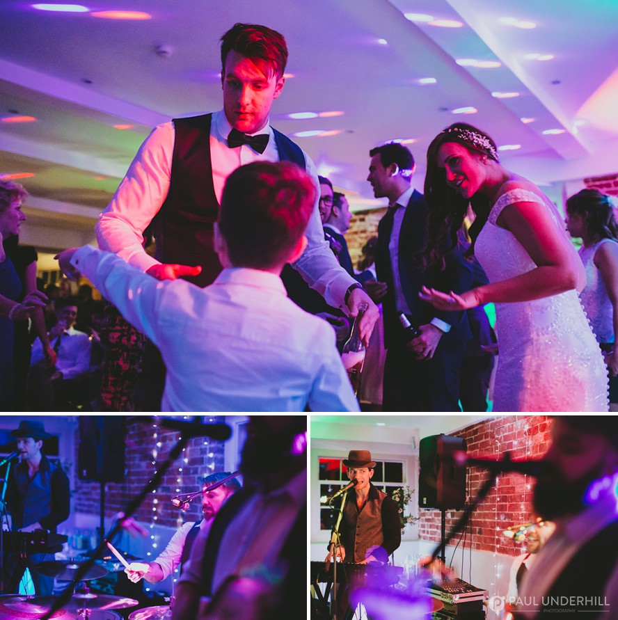 Wedding entertainment live band Sopley Mill
