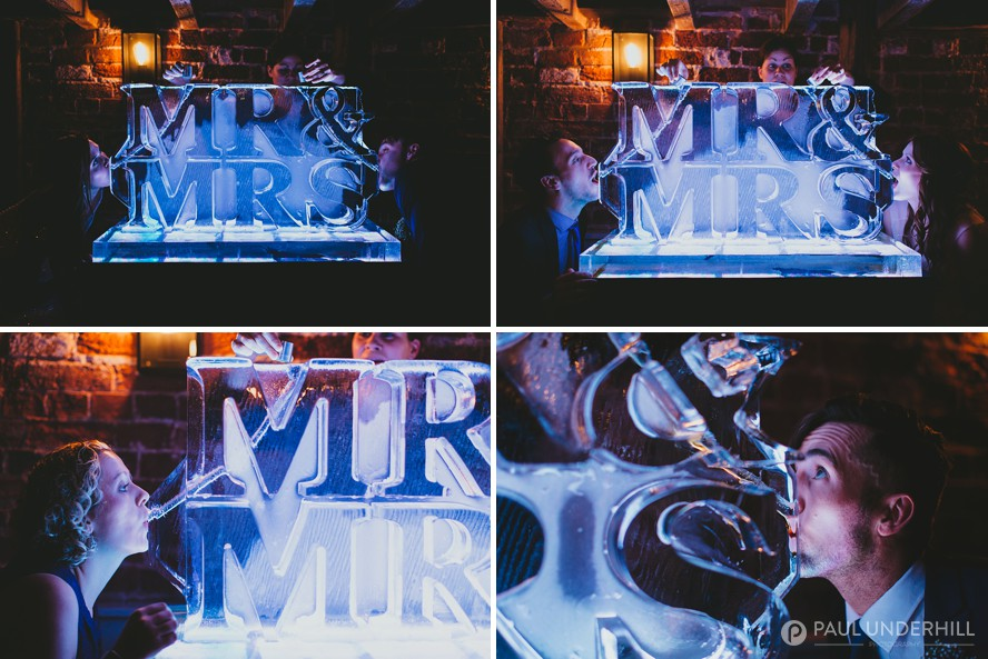 Wedding ideas ice luge