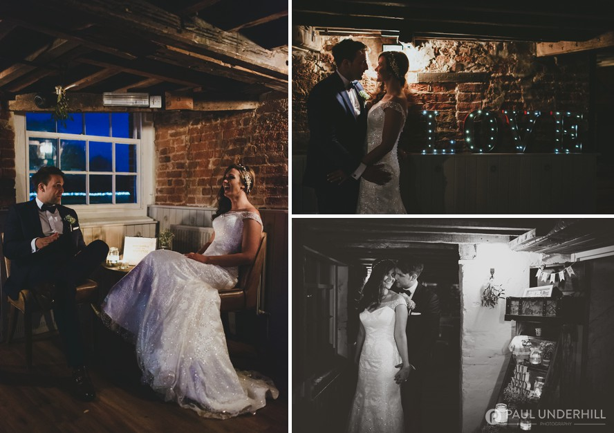 Wedding photography at Sopley Mill in Dorset