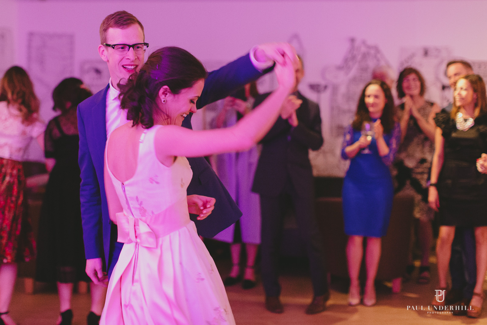 First dance at Russell Cotes wedding