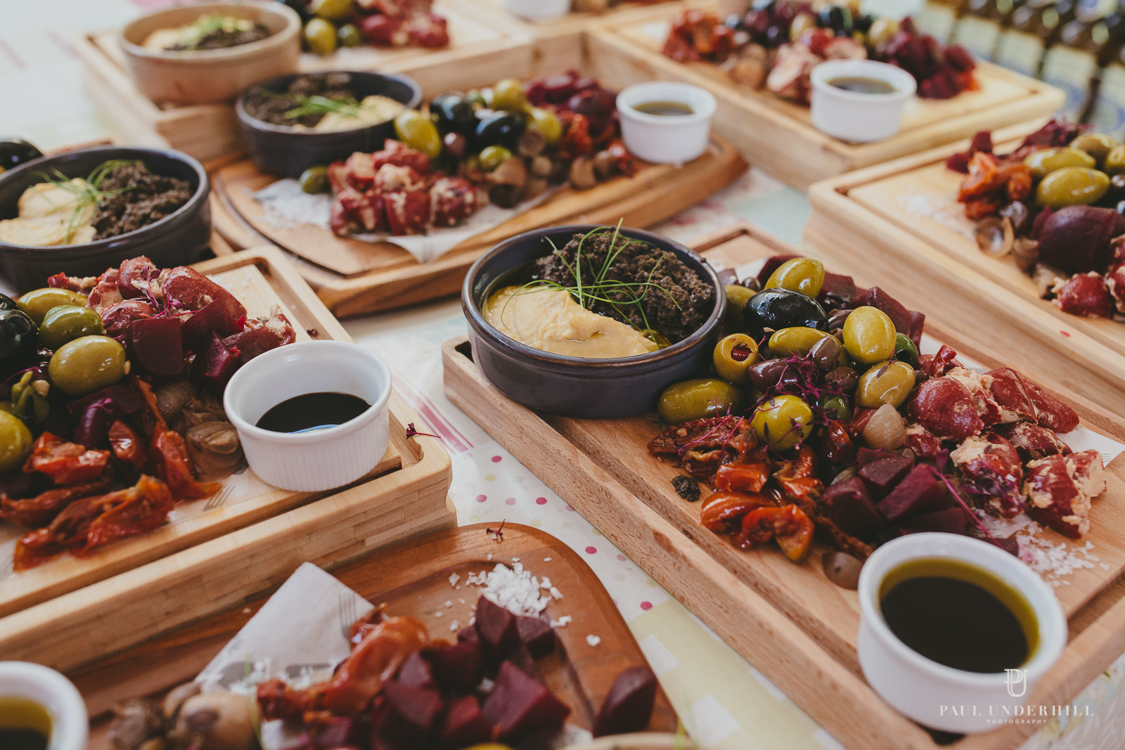 Russell Cotes wedding food