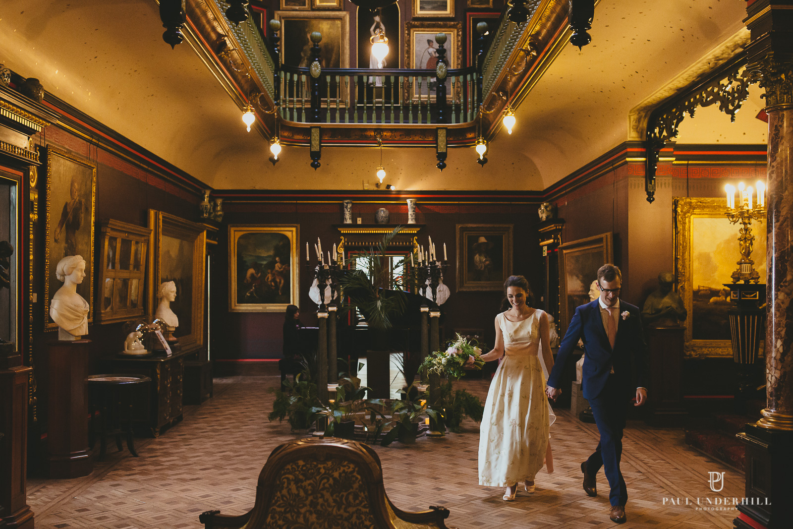 Wedding photography at Russell Cotes Bournemouth