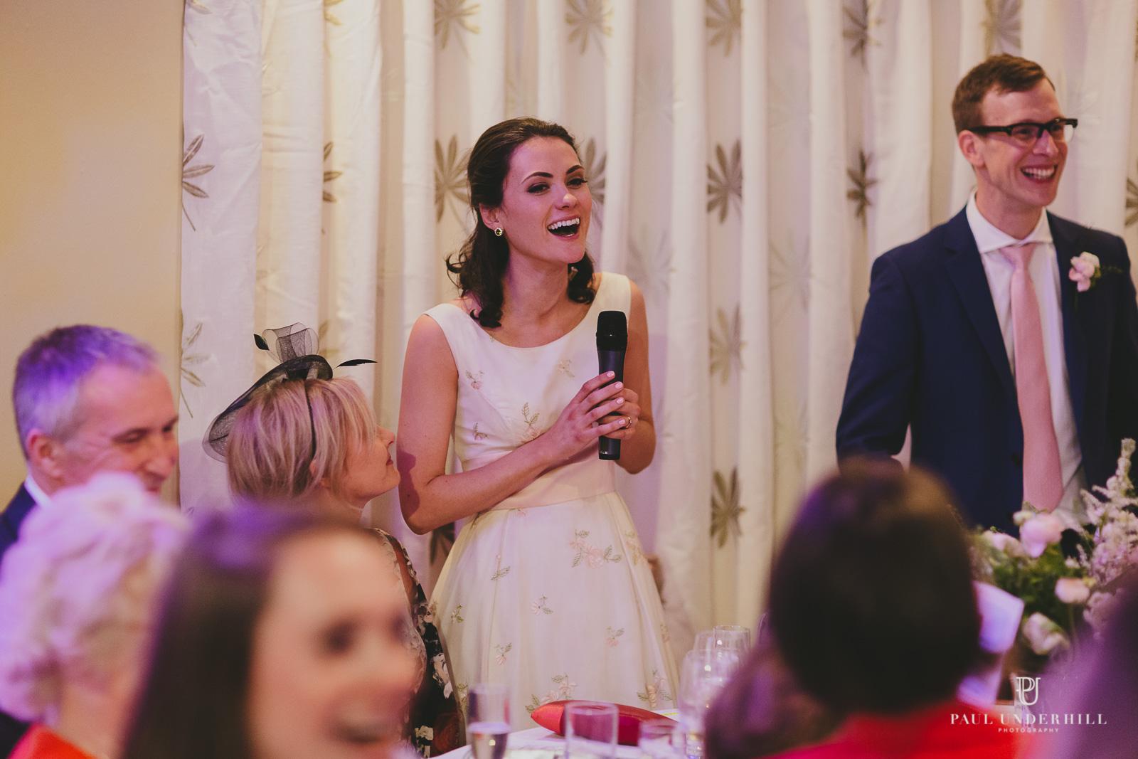 Wedding speech Russell Cotes Bournemouth