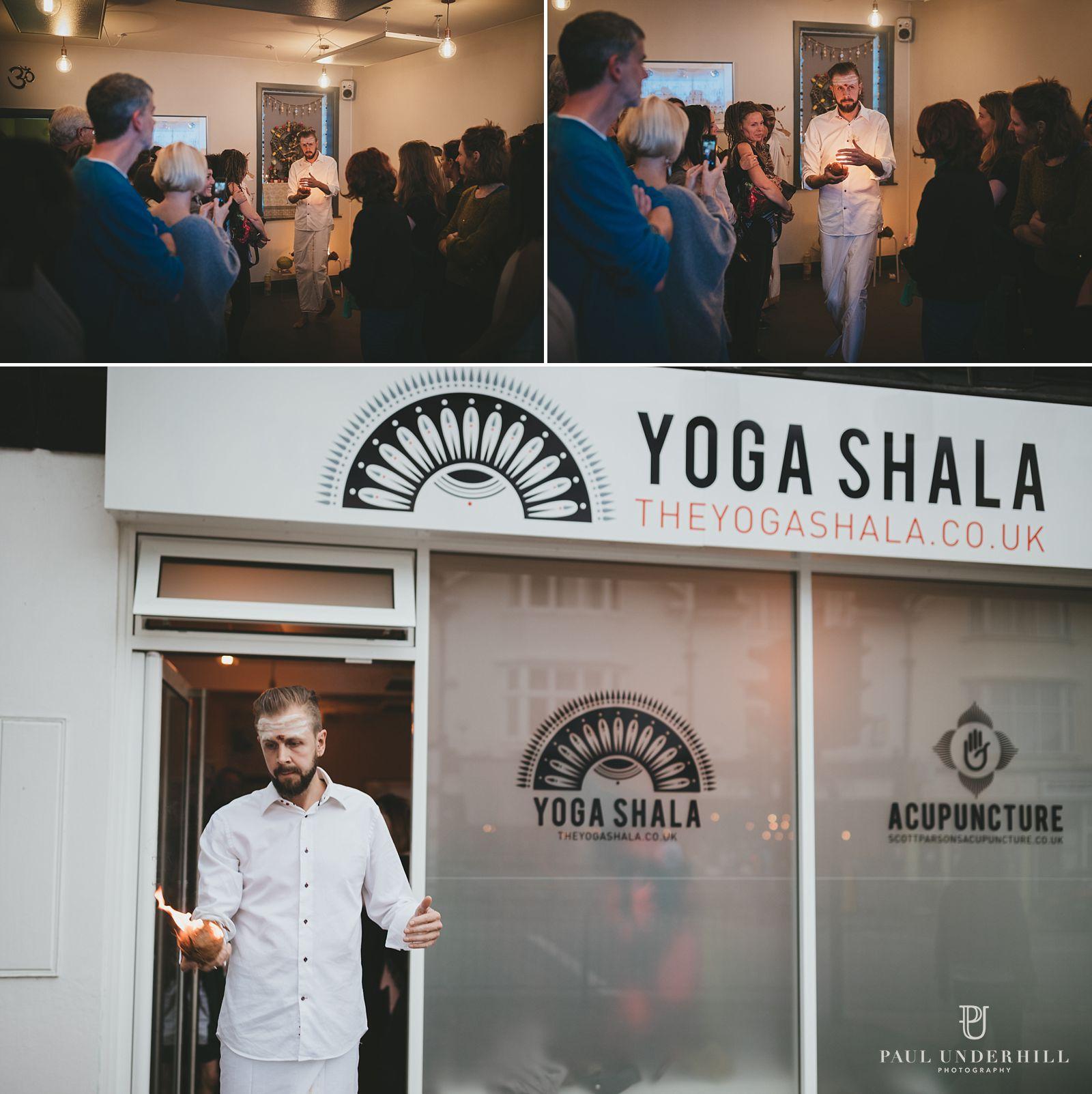 Photography of Yoga Shala event