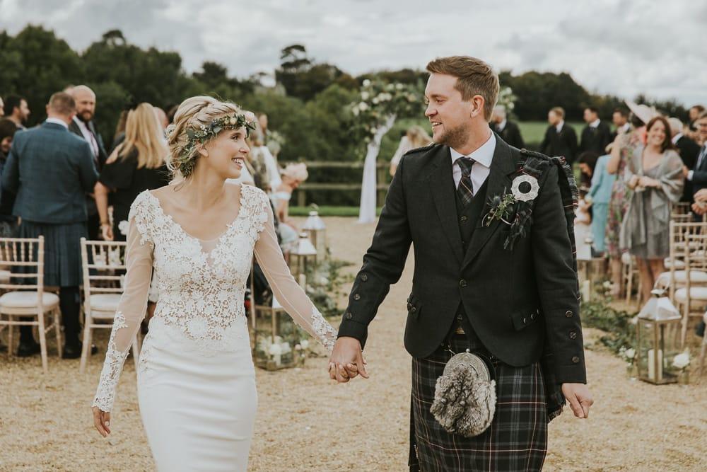 Axnoller House wedding in Dorset