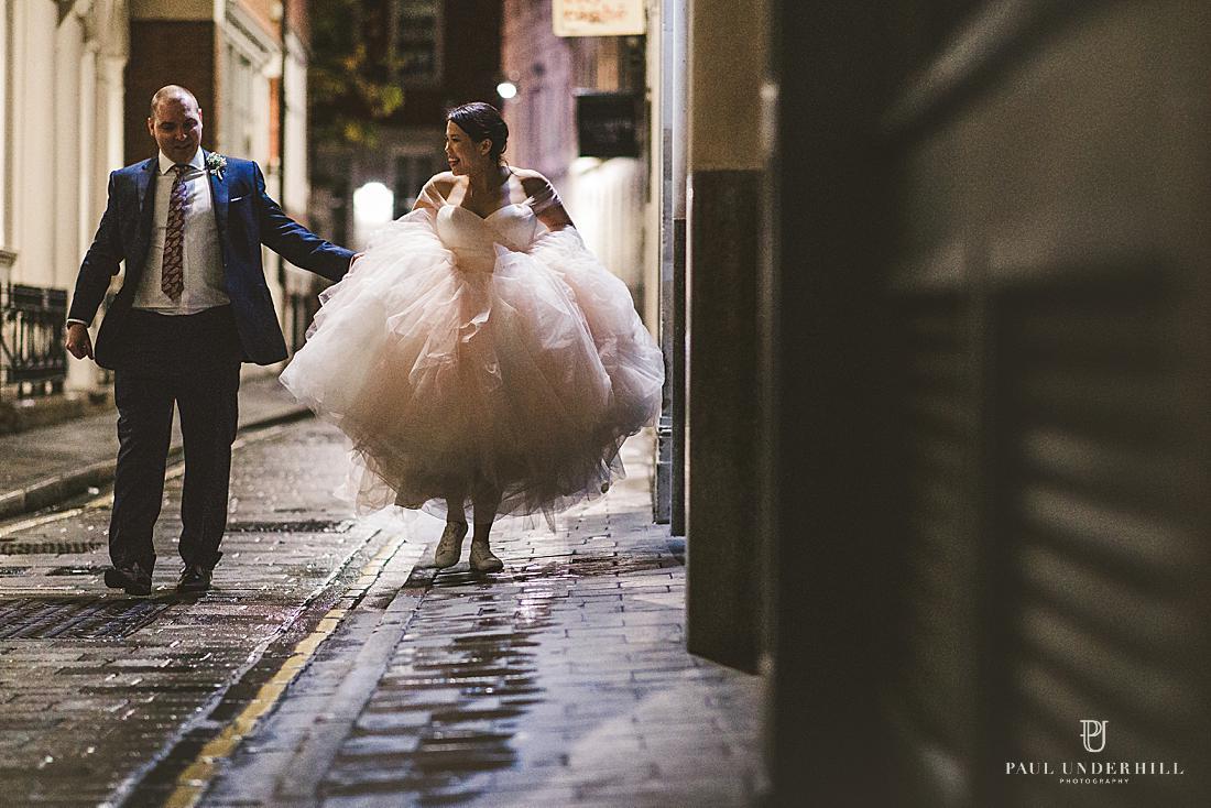 London wedding portraits