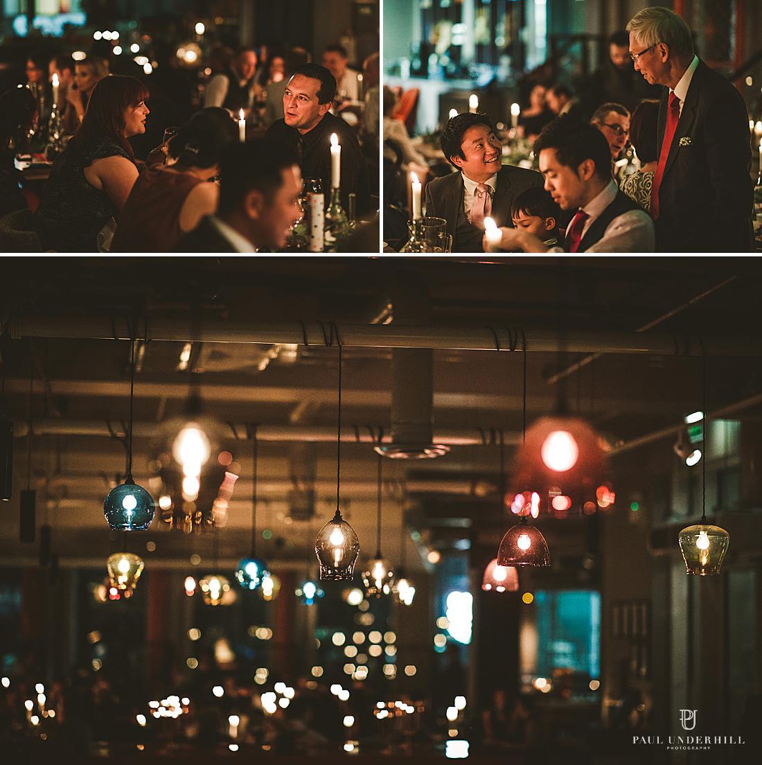Low light wedding photography London