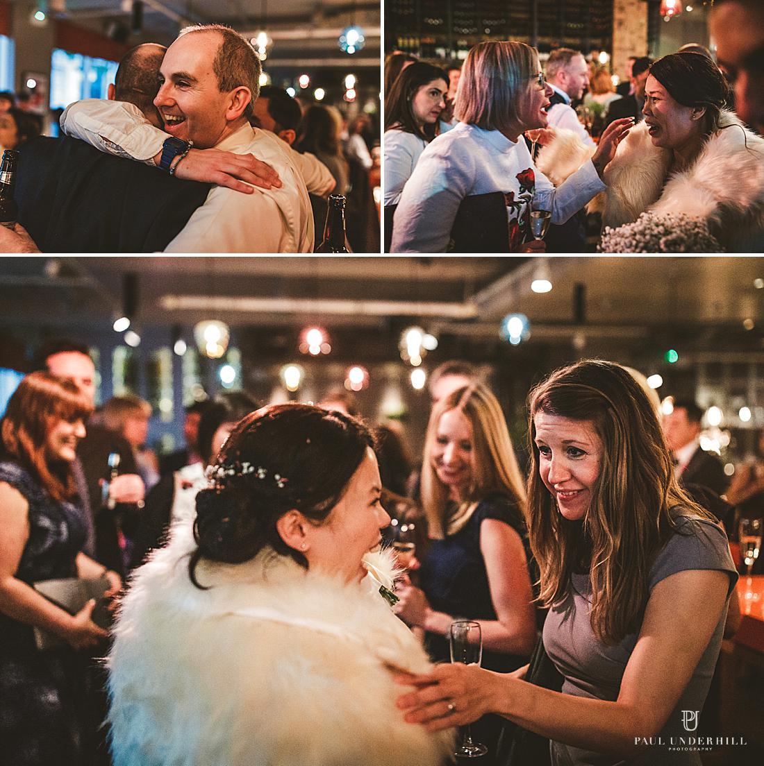 Documentary wedding photography London
