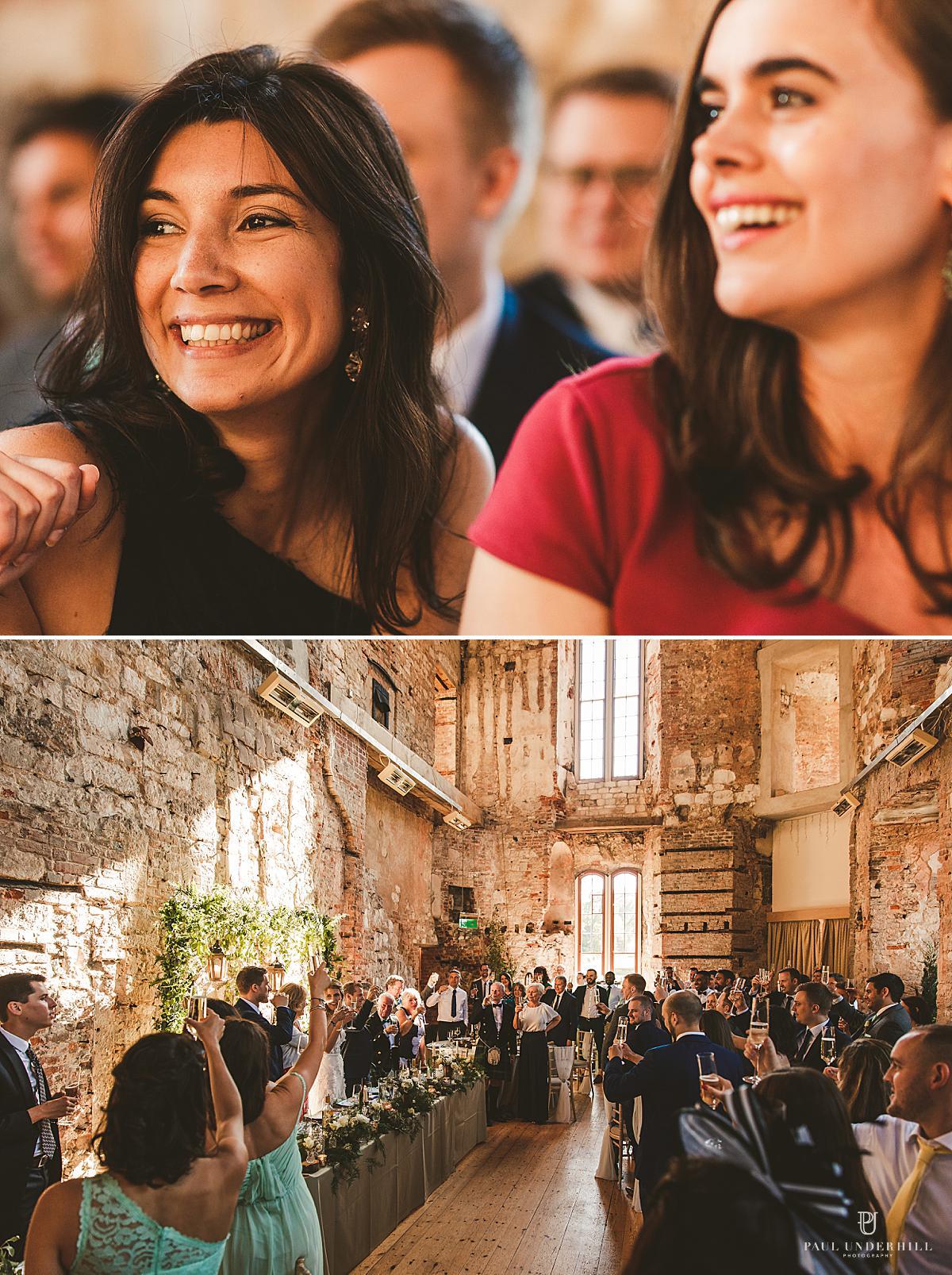 Wedding speeches Lulworth Castle