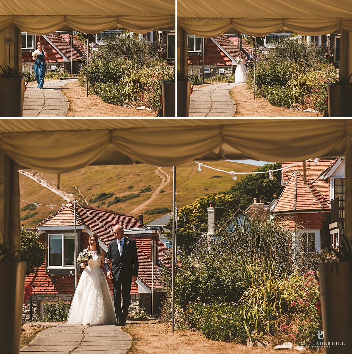 Lulworth Cove wedding photography Dorset