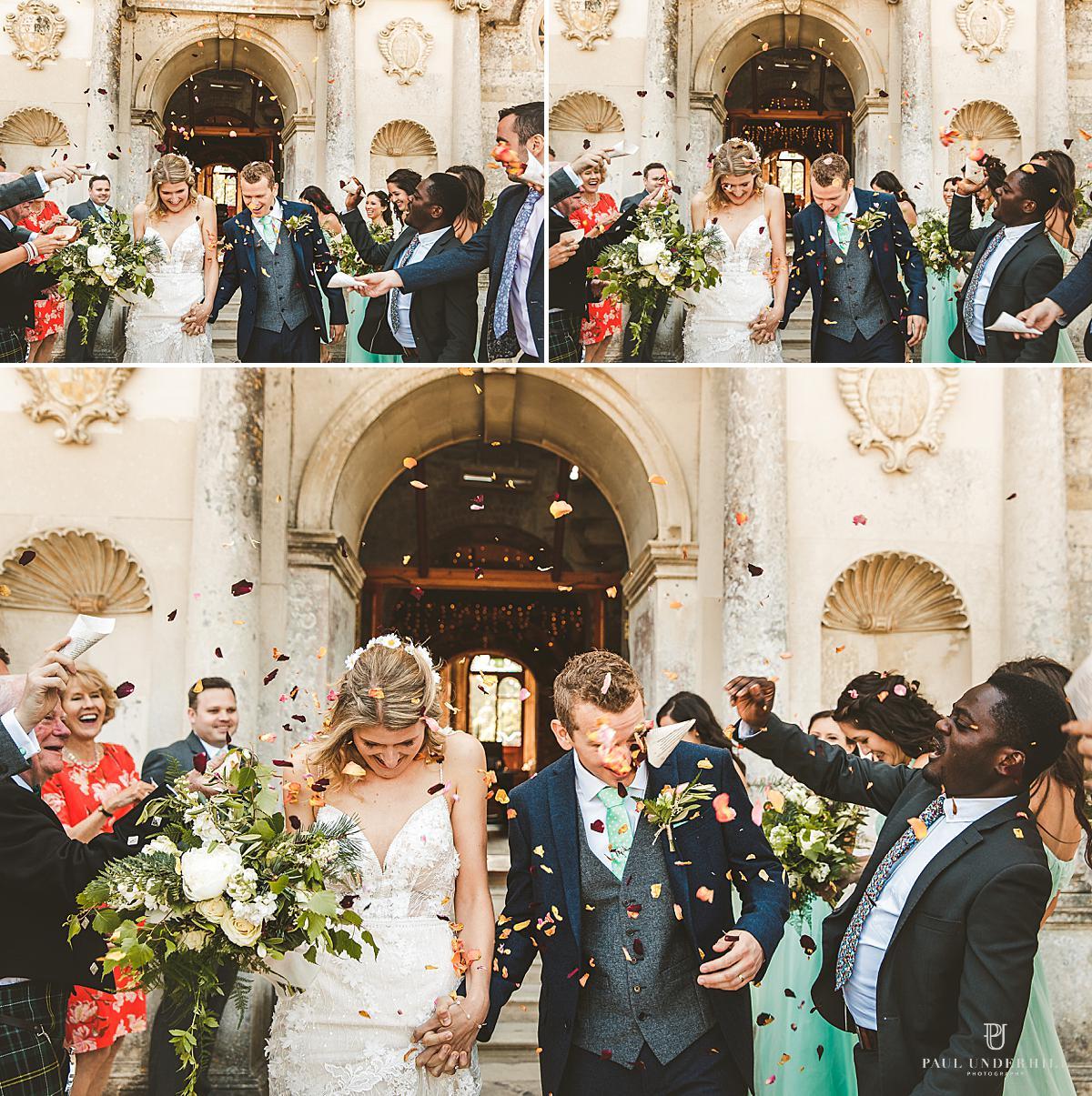 Lulworth Castle wedding