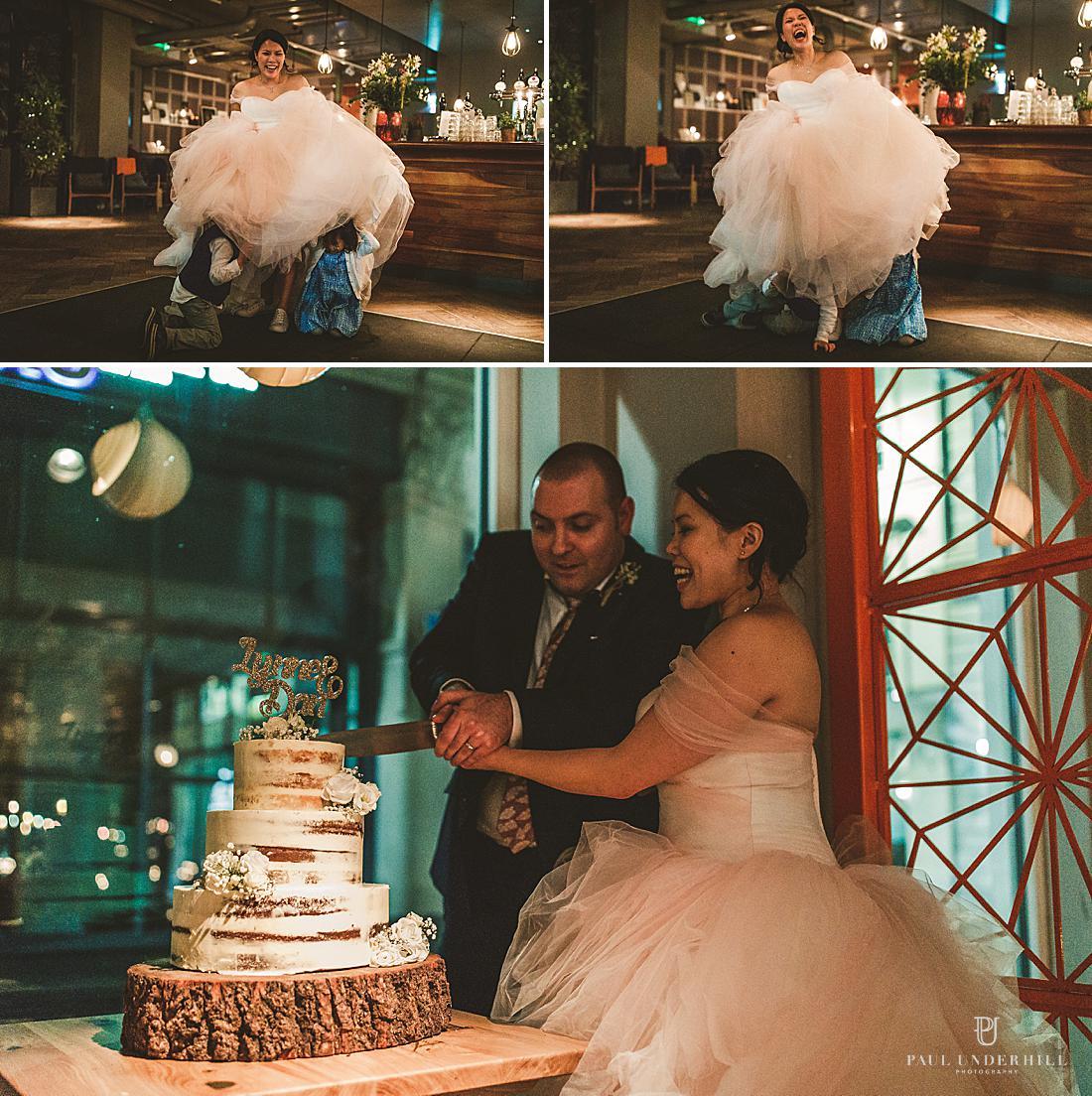 Alternative London wedding photography